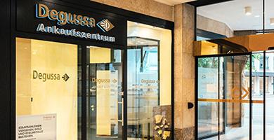 Degussa eröffnet neues Ankaufszentrum in Düsseldorf
