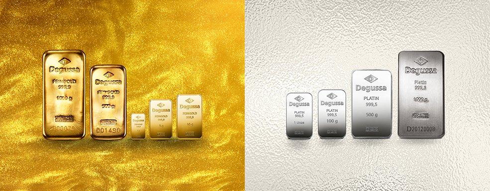 Gold und Platin