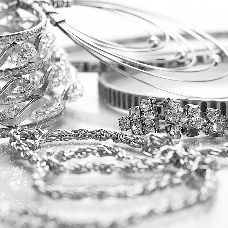 Degussa Ankauf Silberschmuck