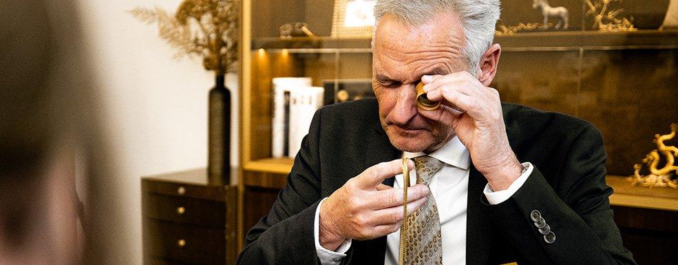 Altgold sicher bei Degussa verkaufen