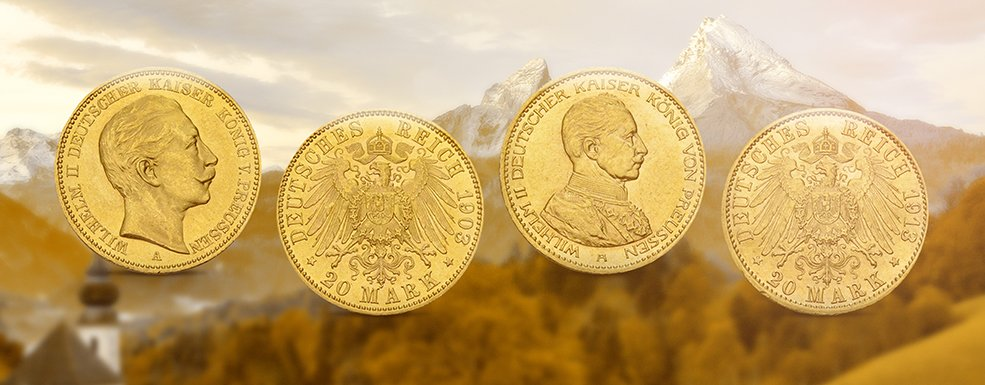 Historische Goldmünzen