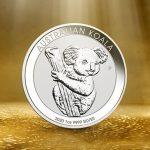Australian Koala Silber
