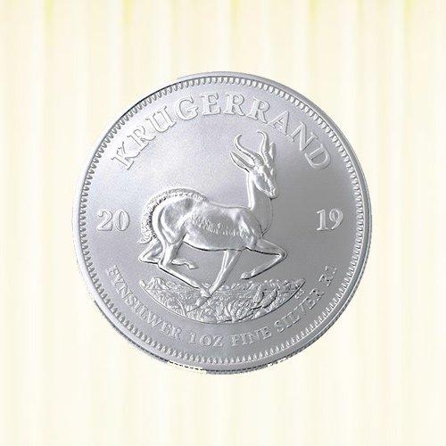 1 oz Krügerrand Silbermünze - Südafrika verschiedene Jahrgänge
