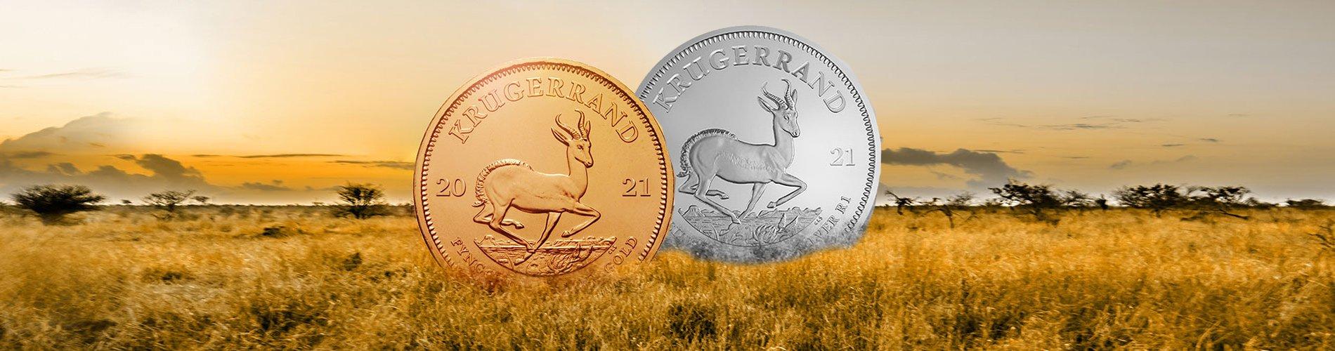 Produktübersicht Krügerrand Münzen