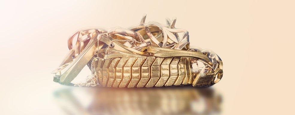 Welche Gegenstände enthalten Altgold?