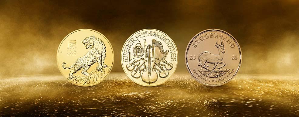 Degussa Bullionmünzen
