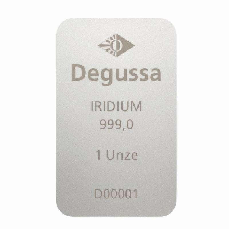 Degussa 1 oz Iridium