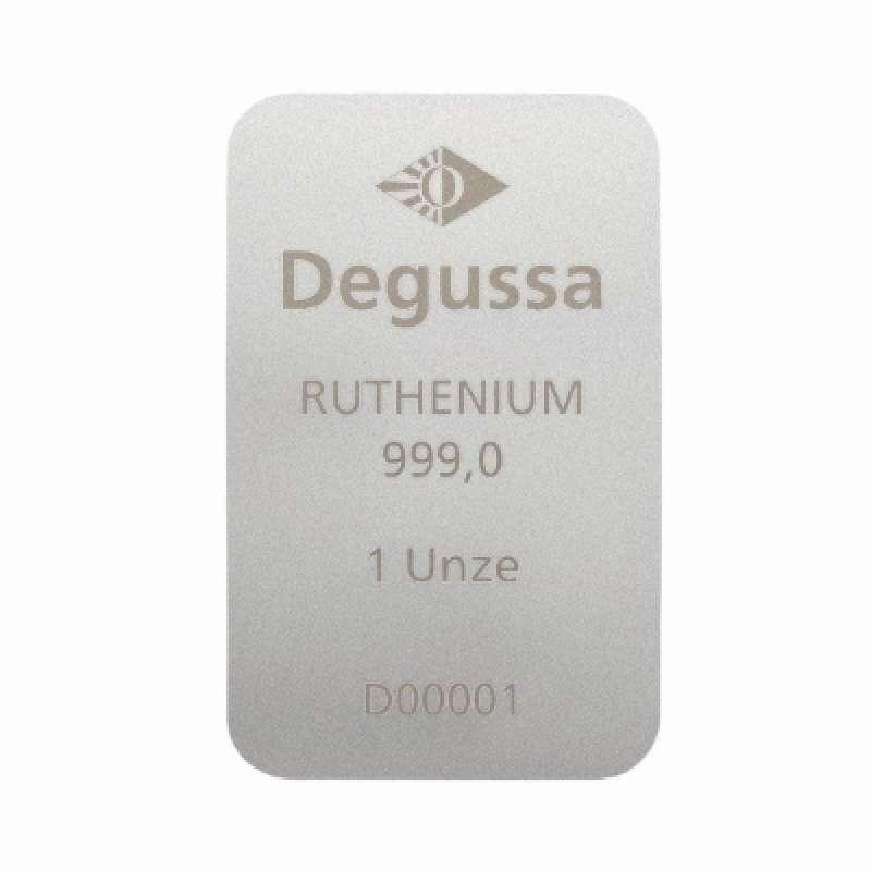 Degussa 1 oz Ruthenium