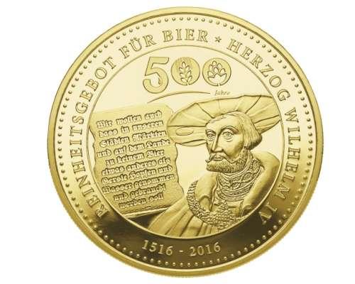 Degussa 500 Jahre Reinheitsgebot In Gold Und Silber Gegossen