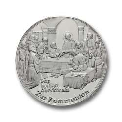 Degussa Goldhandel Silbermedaille Kommunion