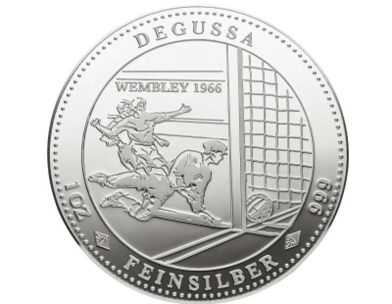 Degussa Wembley 1966 Deutschland