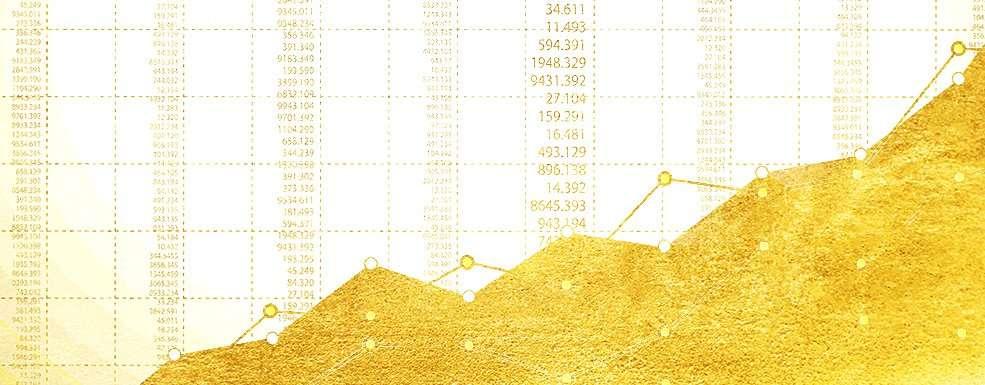 Goldpreis Allzeithoch als Graphendarstellung