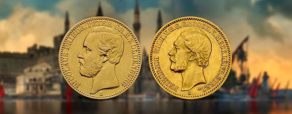 Provinzfürsten auf Münzen des Deutschen Kaiserreichs