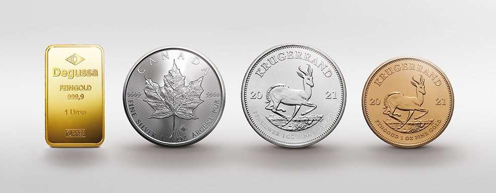 Degussa Pressemitteilung: Maple Leaf und Krügerrand beliebteste Münzen bei Anlegern