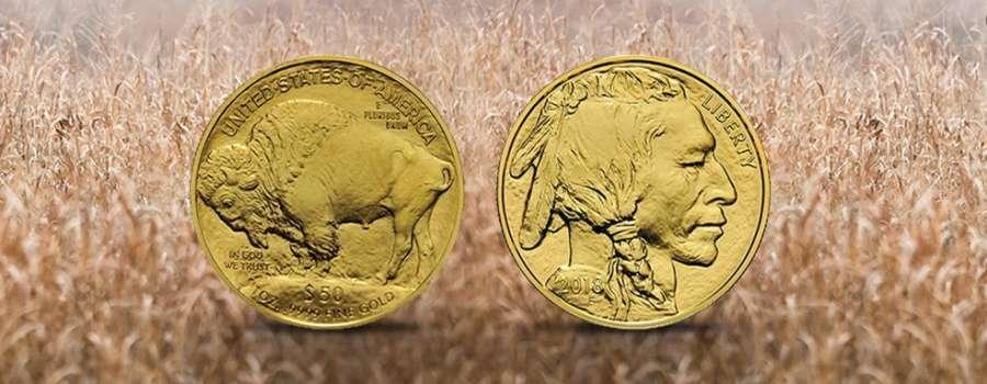American Buffalo: Der bekannteste Büffel der Welt in Gold.