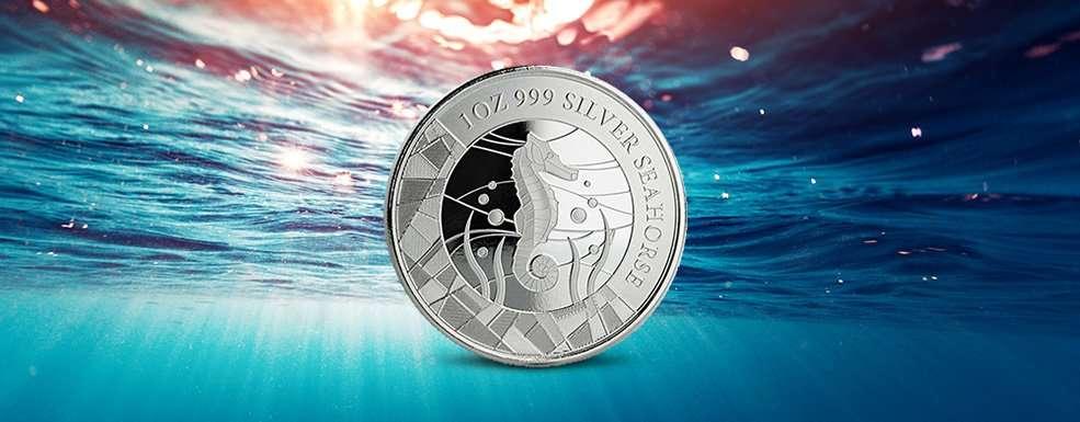 Seepferdchen aus Silber: Scottsdale Mint mischt den Münzenmarkt auf